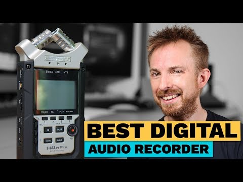 Best Digital Audio Recorder (Zoom H4n Pro Review)