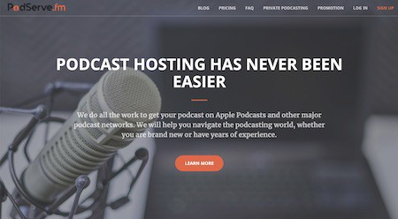 Podserve Podcast Hosting