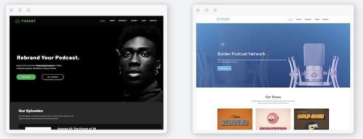 Podcast Website Design